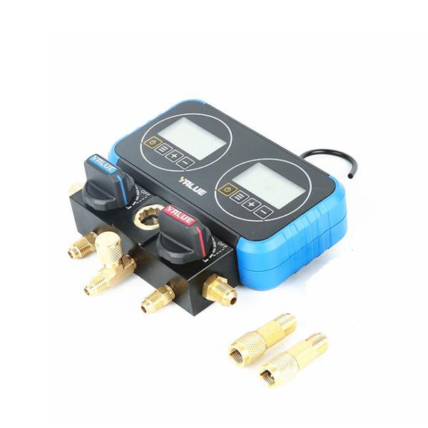 Электронный двухвентильный манометрический  коллектор VRM2-0101I