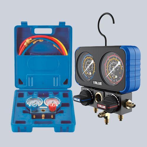 Двухвентильные манометрические станции
